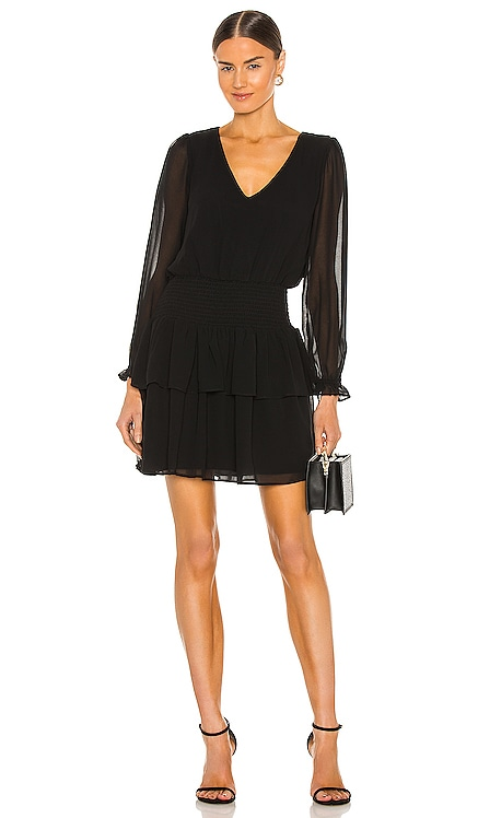 V Neck Smocked Dress 1. STATE $119 NEW