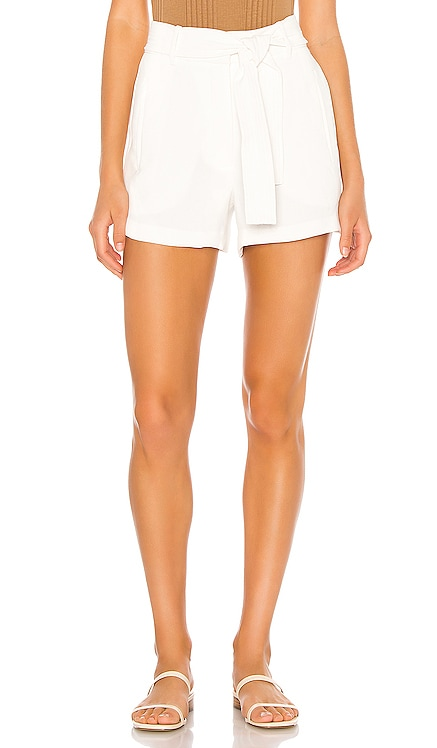 Textured Crepe Tie Waist Short 1. STATE $89 BEST SELLER