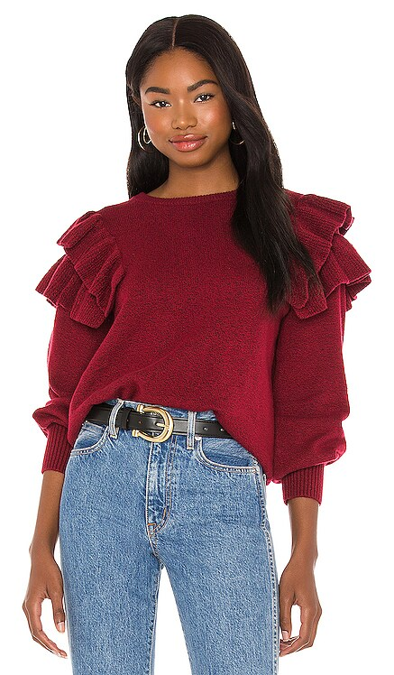 Ruffle Sleeve Sweater 1. STATE $79 NEW