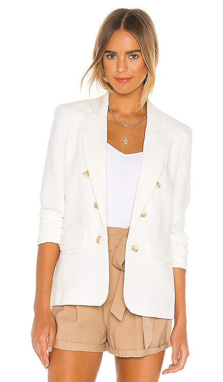 Ruched Sleeve Crepe Blazer 1. STATE $129 NEW