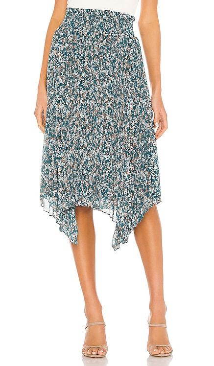 Woodland Floral Handkerchief Hem Skirt 1. STATE $119 NEW ARRIVAL