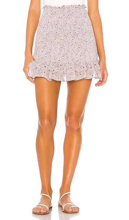 Wildflower Bouquet Mini Skirt 1. STATE $51