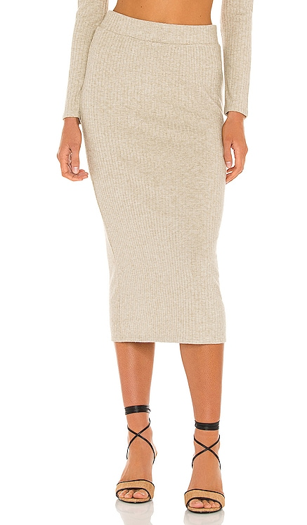 Ribbed Skirt 1. STATE $89