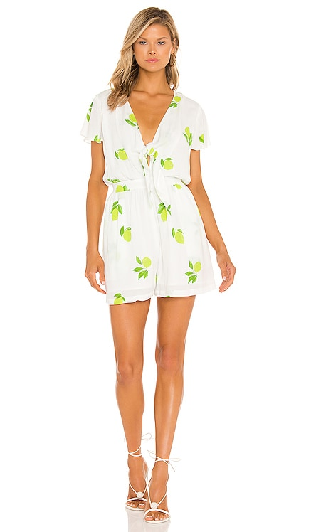Tie Front Romper 1. STATE $89 NEW
