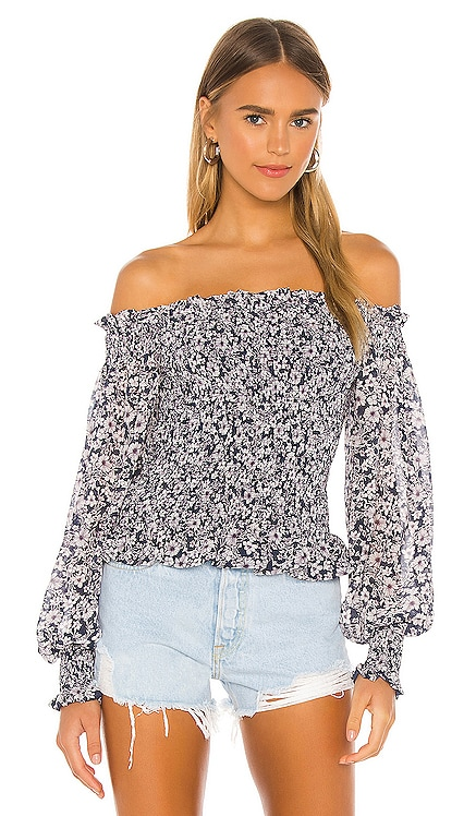 Wildflower Bouquet Blouse 1. STATE $99