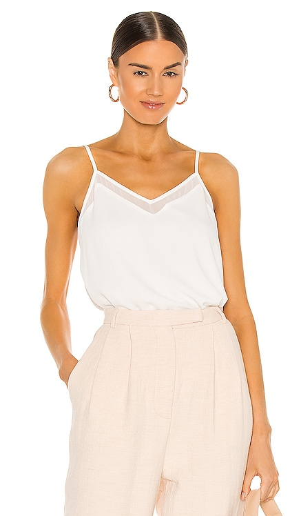 Sheer Inset Cami 1. STATE $59 NEW