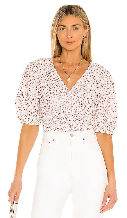 Ditsy Refresh Blouse 1. STATE $79 BEST SELLER