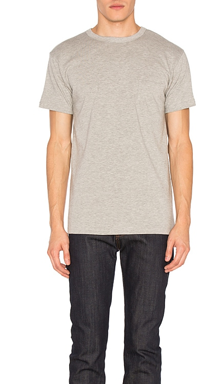 Heavyweight Pocket Tee 2 Pack 3sixteen $85