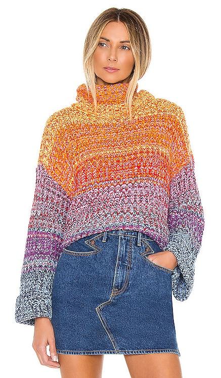 Rainbow Marl Kimono Pullover 525 $50