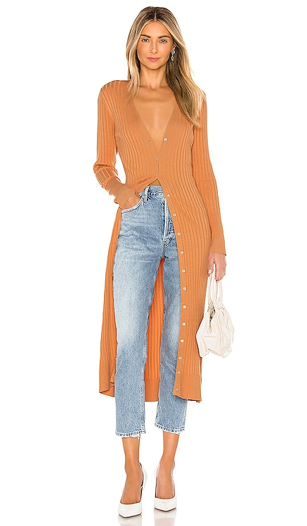Wide Rib Long Cardigan 525 america $138 BEST SELLER