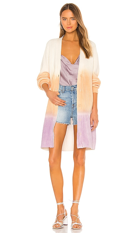Long Spray Dye Cardigan 525 america $138