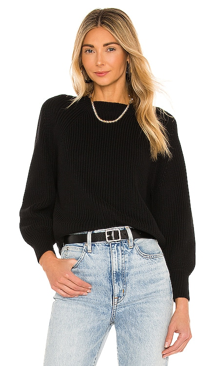 Balloon Sleeve Cropped Sweater 525 $98 NEW