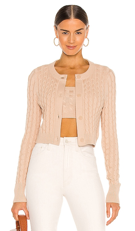 Cropped Cable Cardigan 525 $98 BEST SELLER
