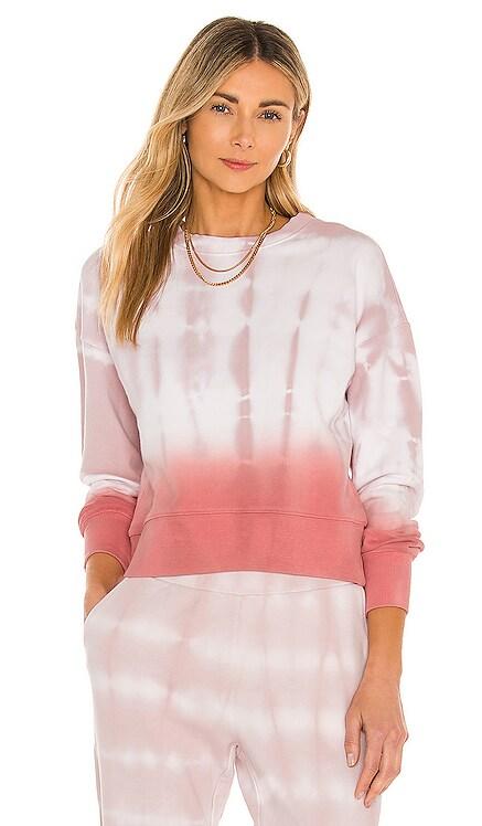 Tie Dye Dip Dye Basic Crew Sweatshirt 525 $118 NEW