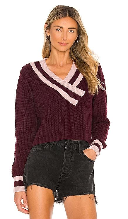 Varsity V-Neck Sweater 525 $98 BEST SELLER