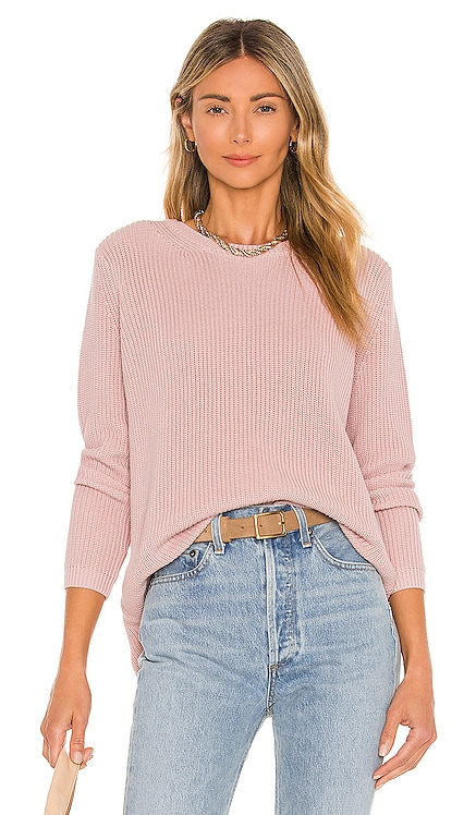 Emma Crewneck Shaker Sweater 525 $88 BEST SELLER