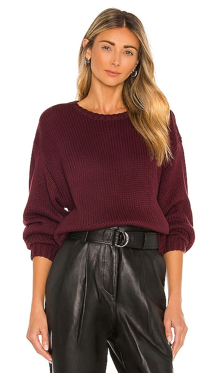 Relax Fit Crew Neck Pullover 525 $98 BEST SELLER