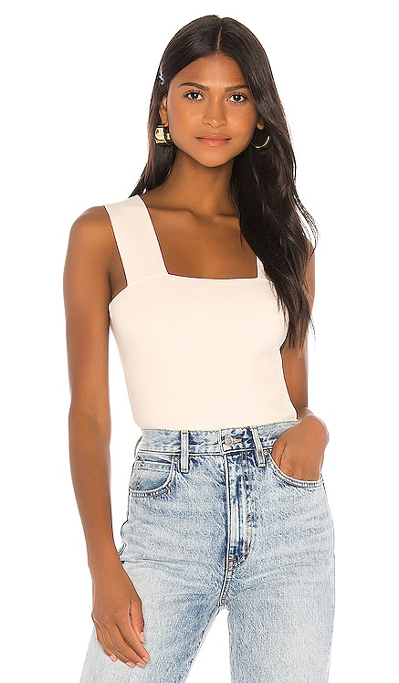 Cropped Criss Cross Tank 525 america $58 NEW ARRIVAL