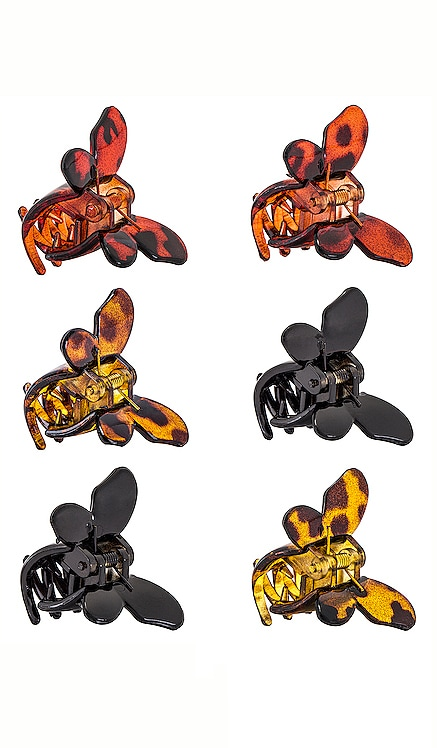 MINI BUTTERFLY クリップセット 8 Other Reasons $47 新作