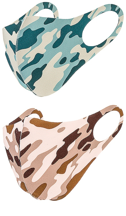 Camo Face Mask Set 8 Other Reasons $24 (FINAL SALE) NEW