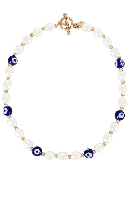 Beaded Evil Eye Toggle Necklace 8 Other Reasons $60 BEST SELLER