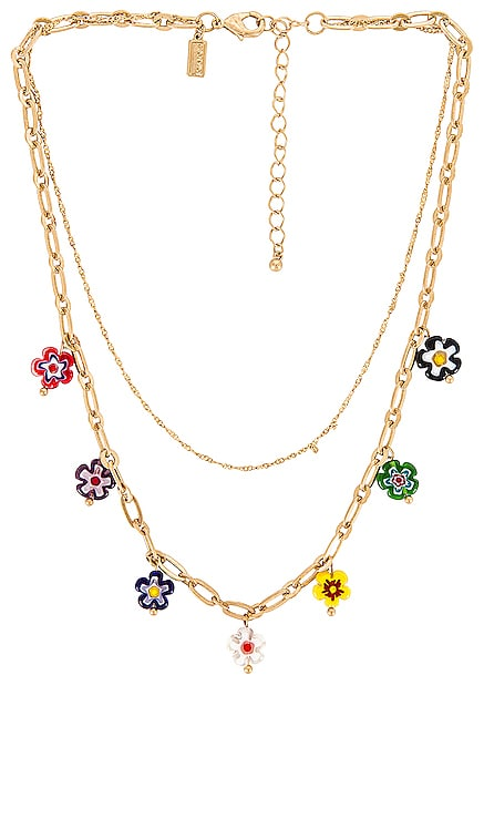 Flower Layered Necklace 8 Other Reasons $31