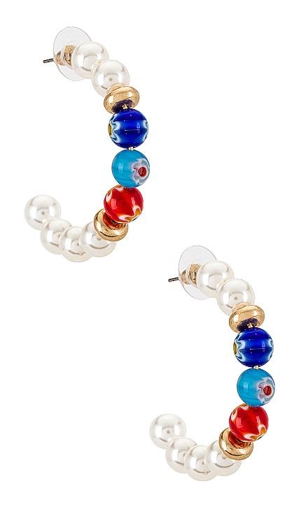 Beaded Hoop Earrings 8 Other Reasons $25