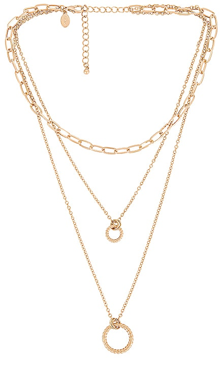 Circle Layer Necklace 8 Other Reasons $38