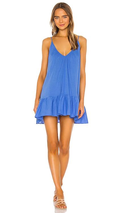 St Tropez Ruffle Mini Dress 9 Seed $130 BEST SELLER