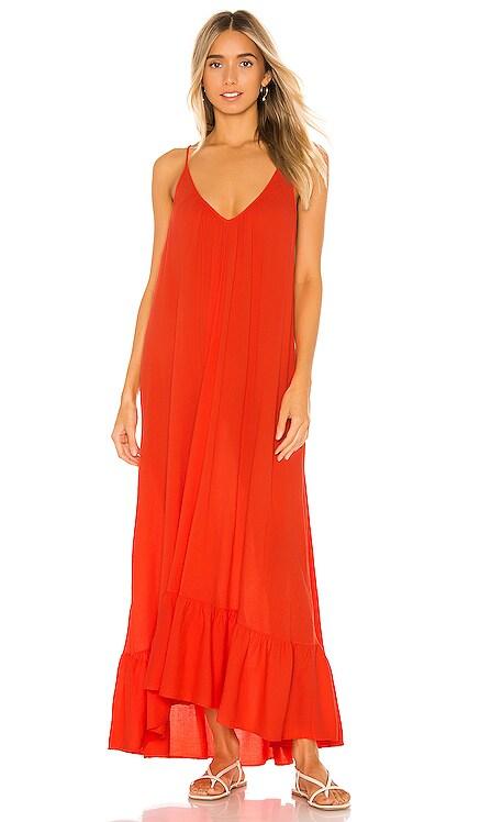 Paloma Ruffle Maxi Dress 9 Seed $163 NEW ARRIVAL
