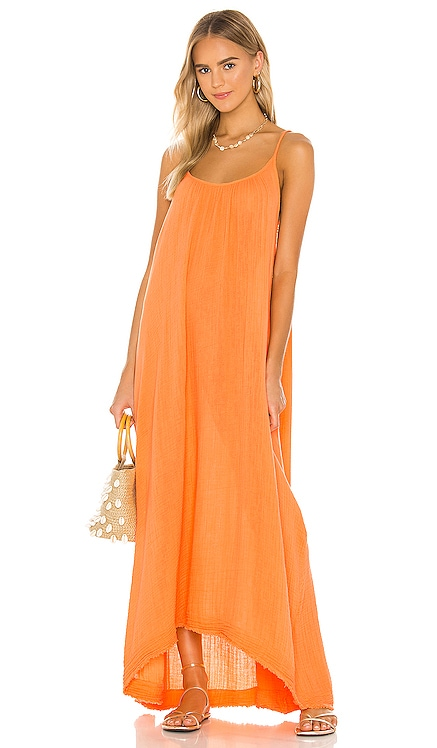 Tulum Low Back Maxi Dress 9 Seed $163 BEST SELLER