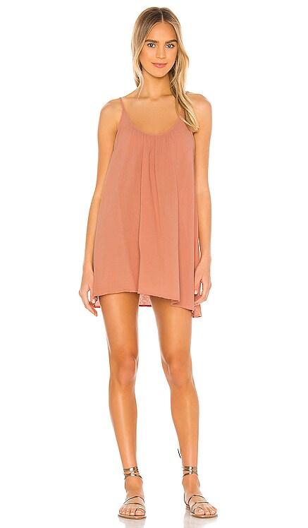 St Barts Low Back Mini Dress 9 Seed $123