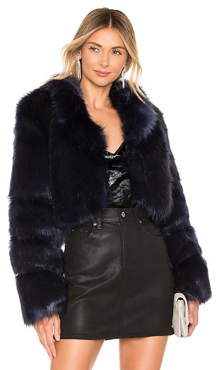 Kaitlyn Faux Fur Jacket superdown $82