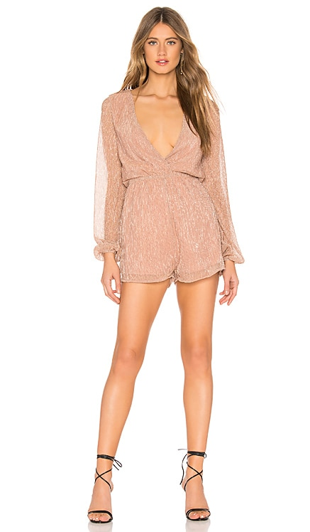 Tia Pleated Romper About Us $24 (FINAL SALE)