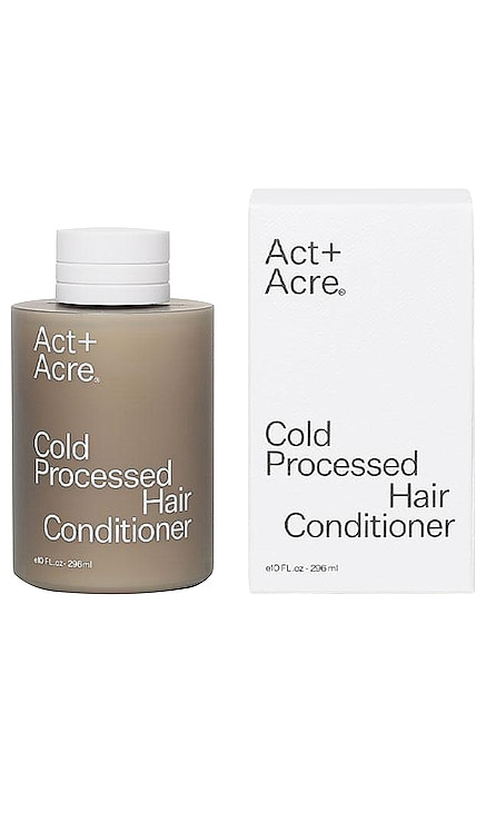 Cold Processed Hair Conditioner Act+Acre $28 BEST SELLER