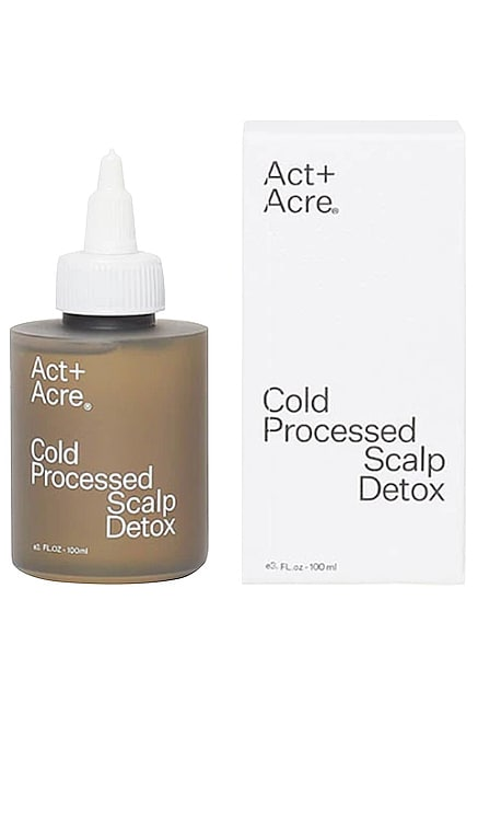Cold Processed Scalp Detox Act+Acre $42 BEST SELLER