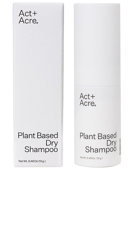 Plant Based Dry Shampoo Act+Acre $22 BEST SELLER