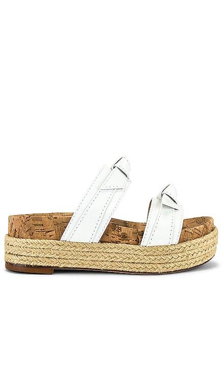 Clarita Flatform Espadrille Sandal Alexandre Birman $425