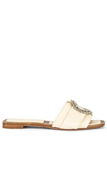 Maddie Padded Flat Slide Alexandre Birman $495 NEW