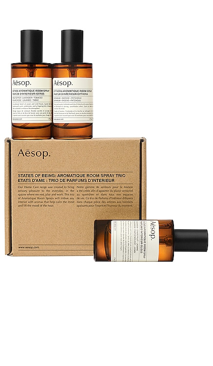 TRIO SPRAY D'AMBIANCE STATES OF BEING Aesop $110 BEST SELLER
