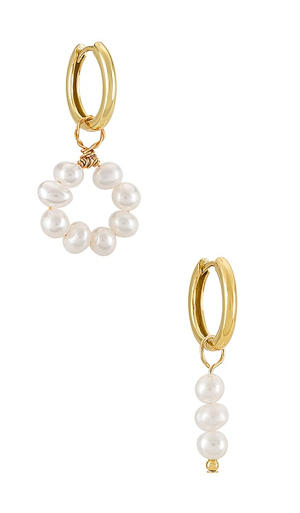 Kaia Earrings Arms Of Eve $110 NEW