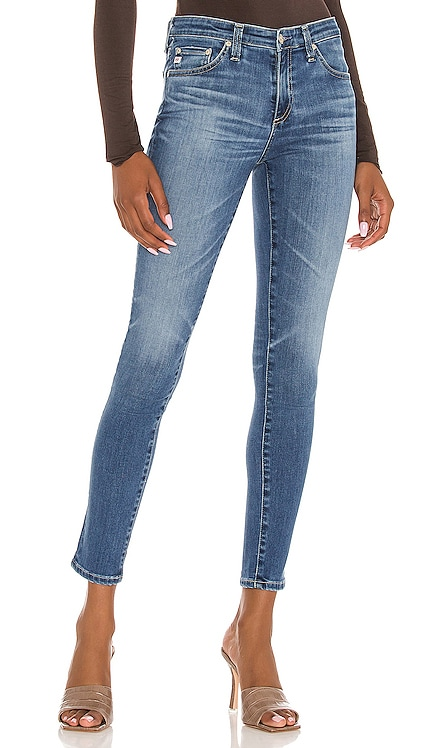 Legging Ankle Jean AG Adriano Goldschmied $225 NEW