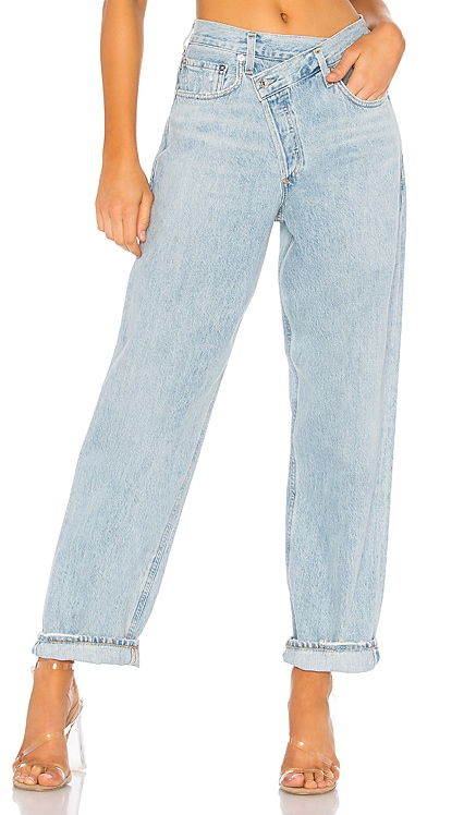 JEAN LÂCHE CRISS CROSS AGOLDE $188 BEST SELLER