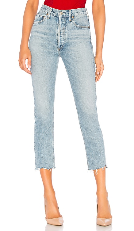 Riley High Rise Straight Crop AGOLDE $198