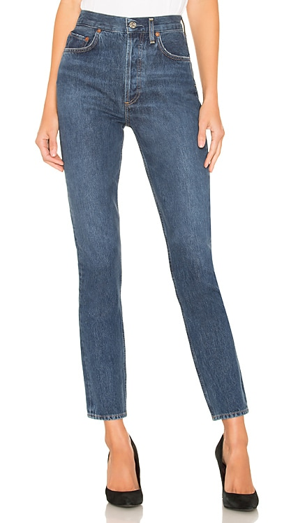 Remy High Rise Straight AGOLDE $135