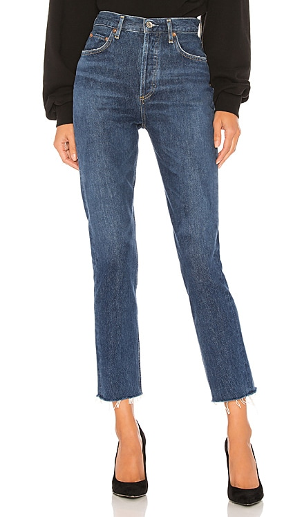 Remy High Rise Straight AGOLDE $178 BEST SELLER