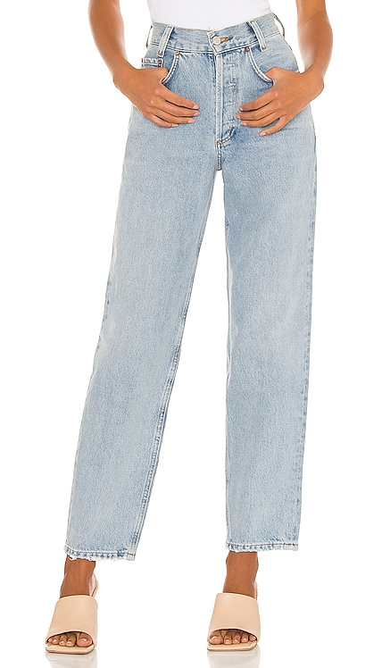 High Rise Tapered Baggy Jean AGOLDE $188 Sustainable