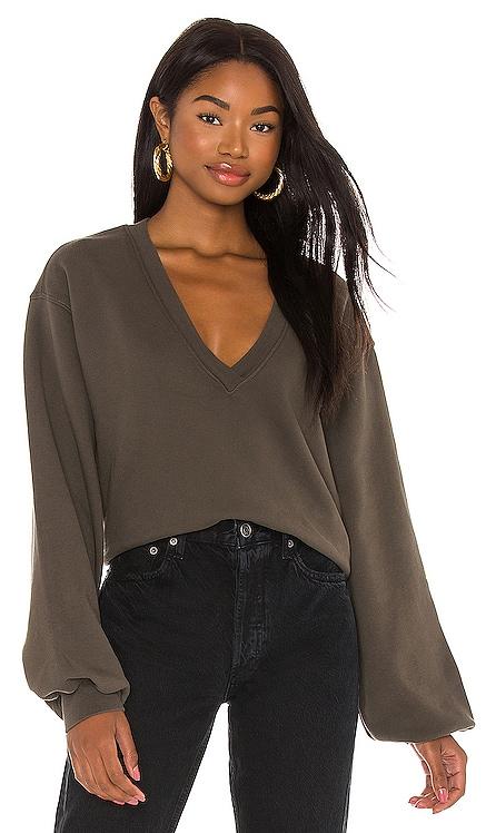 Balloon Sleeve Sweatshirt AGOLDE $138
