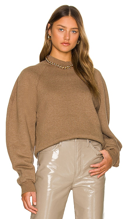 Tarron Mock Neck Sweatshirt AGOLDE $158 NEW