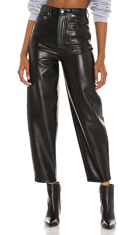 Recycled Leather Balloon Taper AGOLDE $298
